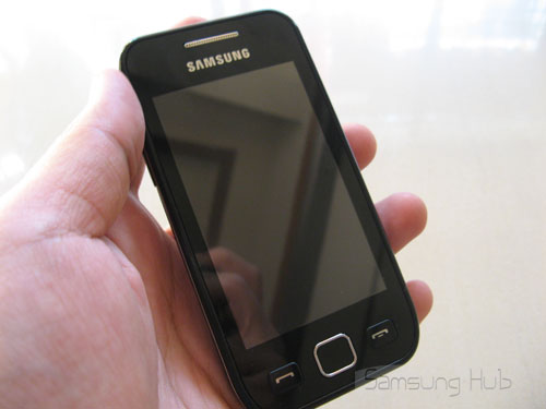 samsung wave 525. Samsung Wave 525 Hands-on